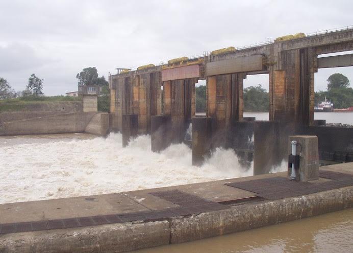 Rio Taquari - Barragem de Bom Retiro do Sul