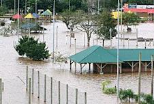 Enchente Rio Taquari  2009 - mês agosto