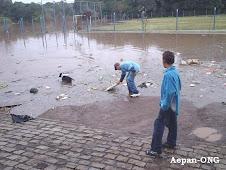 Enchente Rio Taquari  2009 - mês agsto