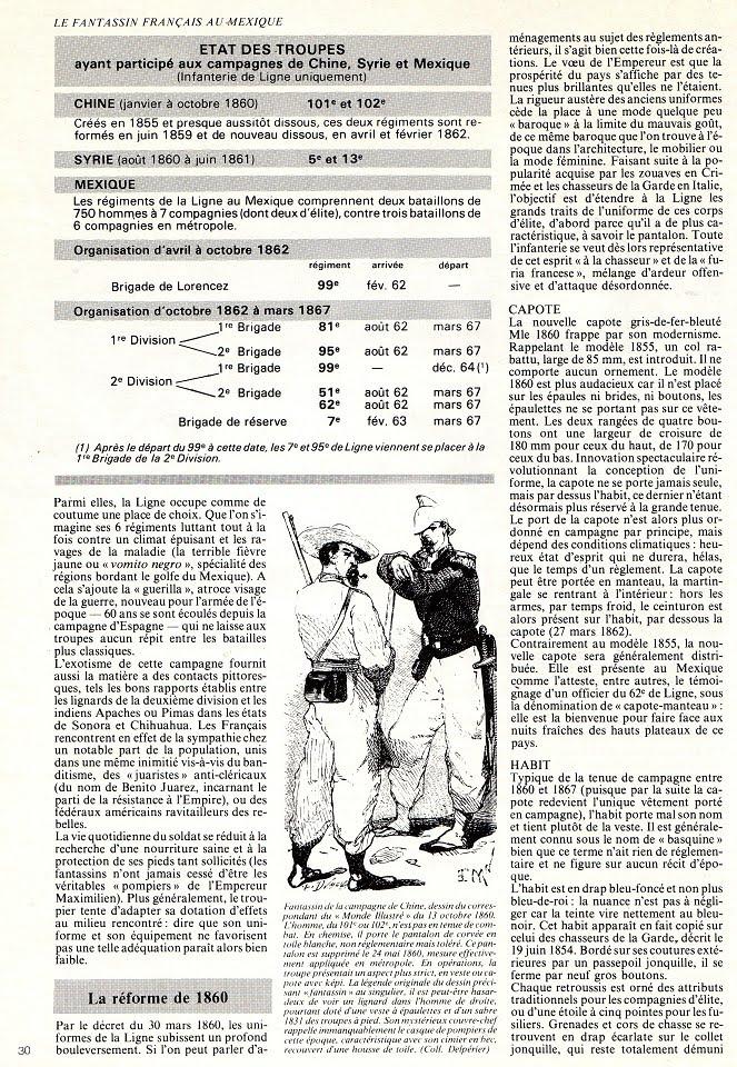 Paco fait le zouave l 39 uniforme du fantassin fran ais la suite 1860 67 - Argument contre le port de l uniforme ...
