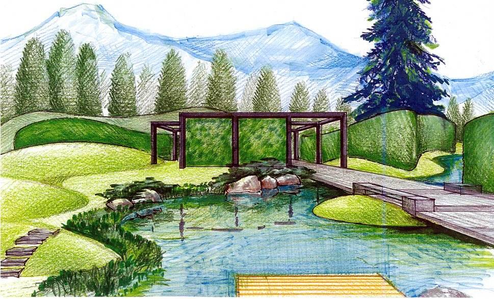 Paisajismo pueblos y jardines las folies en la for Que es diseno en arquitectura