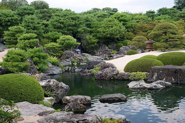 Dibujo t cnico bachillerato jardines japoneses museo adachi for Estanques japoneses jardin