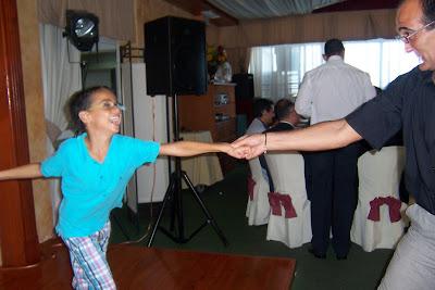 Papi y dani bailando