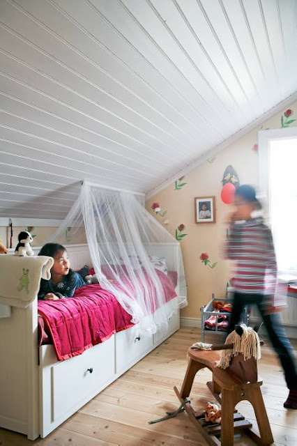 The Boo And The Boy Kids Rooms In The Attic Or Rooms