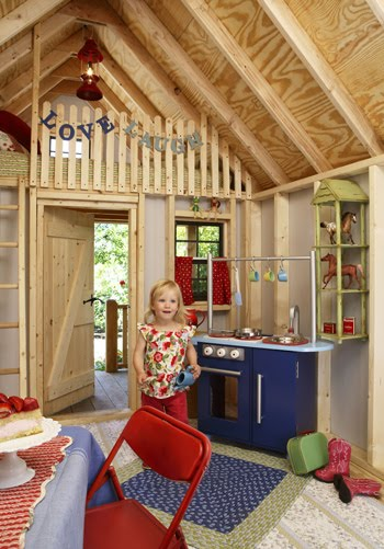 The Boo And The Boy Kids Playhouses