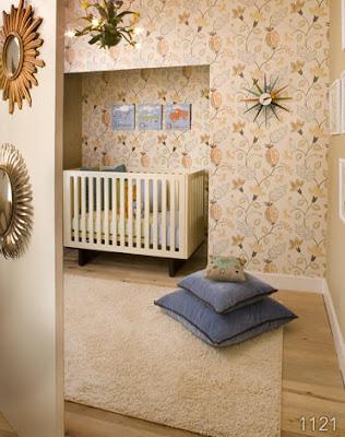 wallpaper for kids rooms. Wallpaper in kids' rooms - part 2