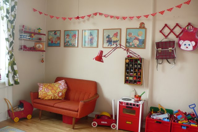 The boo and the boy vintage eclectic kids 39 rooms - Deco chambre enfant vintage ...
