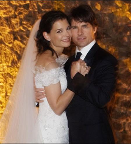 tom cruise and katie holmes wedding. katie holmes wedding hair