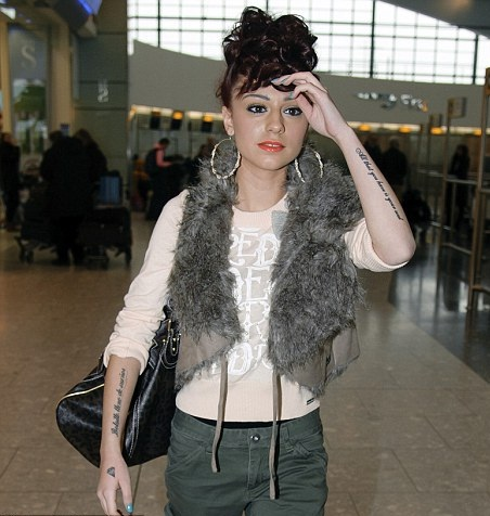 cher lloyd tattoos