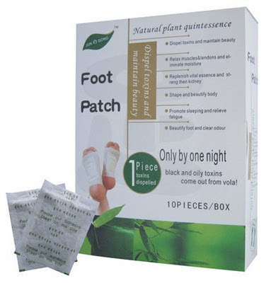 detox foot patch koyok kaki jun gong