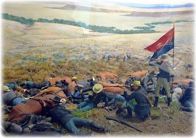 24 ET 25 JUIN  BATAILLE DE LITTLE BIGHORN  %2322+~+Diorama+of+the+Battle+at+Little+Bighorn
