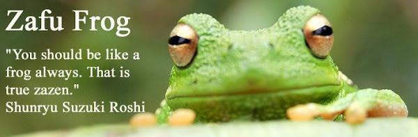 Zafu Frog