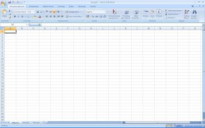 Excel okno startowe
