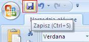 zapisz Excel