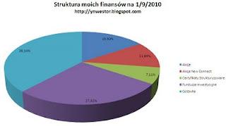 struktura inwestycji inwestora