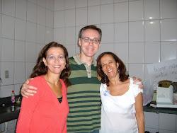 Luiza, Cláudio e Terezinha