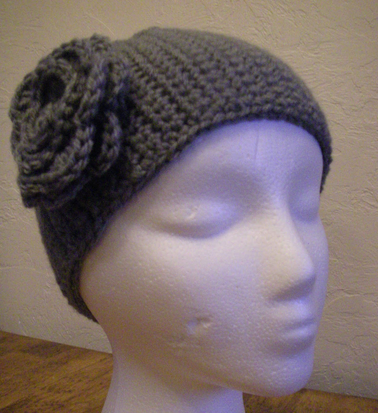 Crocheting A Headband : Crocheted Headband