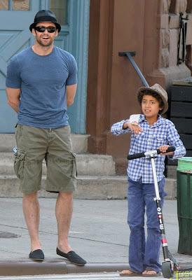 Hugh Jackman e hijo
