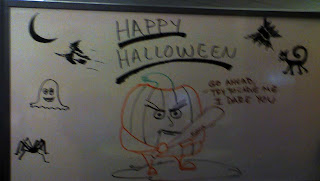 Halloween Office Art by Tony Sarrecchia