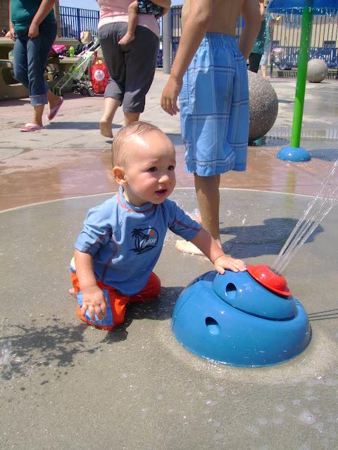 Splash Pad at Sigler Park, Westminster, CA