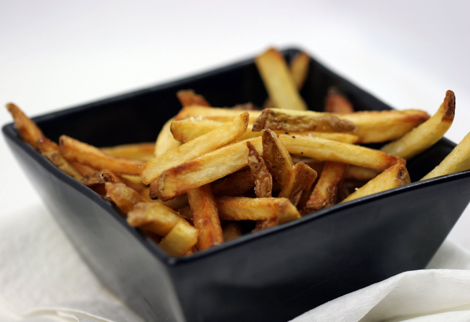 my boyfriend cooks for me: we did it: perfect french fries