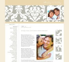 Custom Wedding Web Sites
