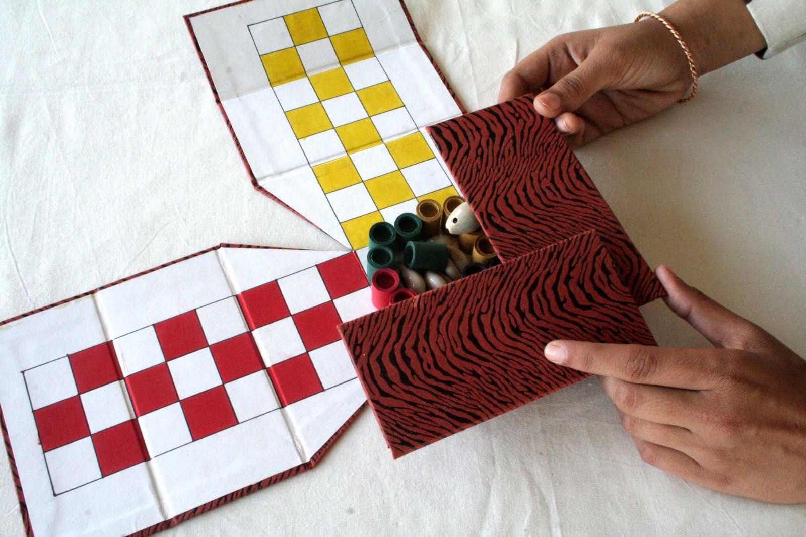 Khushi ram pandey traditional indian game chaupar