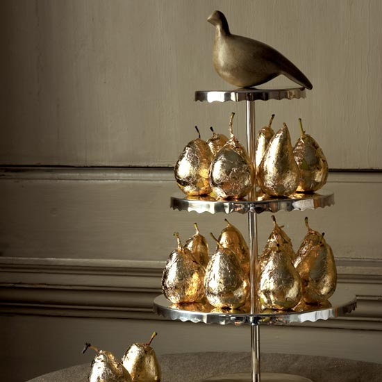 Christmas Table Decoration Ideas Gold : Victoria dreste designs holiday gold