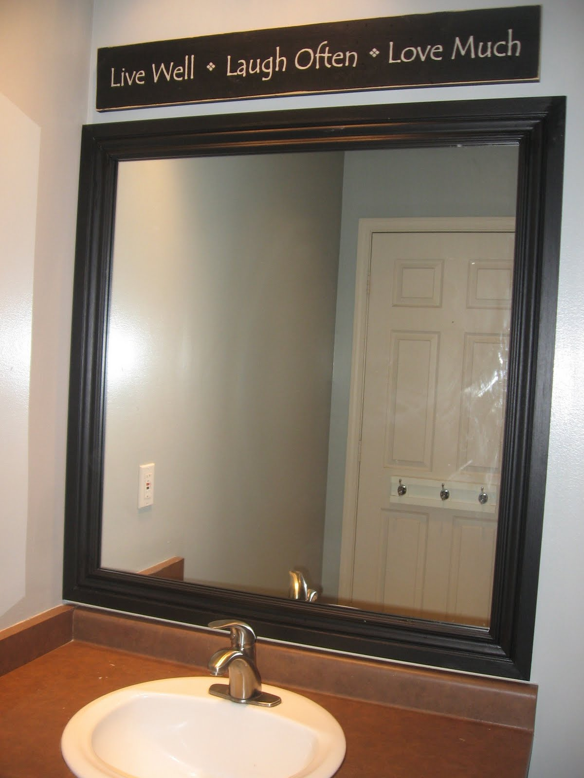 Frame a bathroom mirror with molding - Frame A Bathroom Mirror With Molding 42