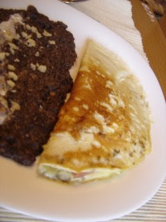 Omelette con Mermelada