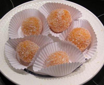 Masitas de Chocolate con Leche Condensada