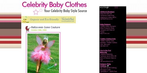 Tutu couture celebrity baby clothes