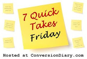 7 quick takes sm 7 Quick Takes Friday (vol. 90)
