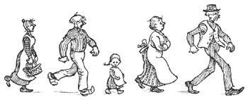 A família do Emílio, e ainda a Lina e o Alfredo.