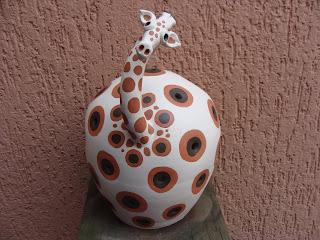 Luminária Girafa Étnica