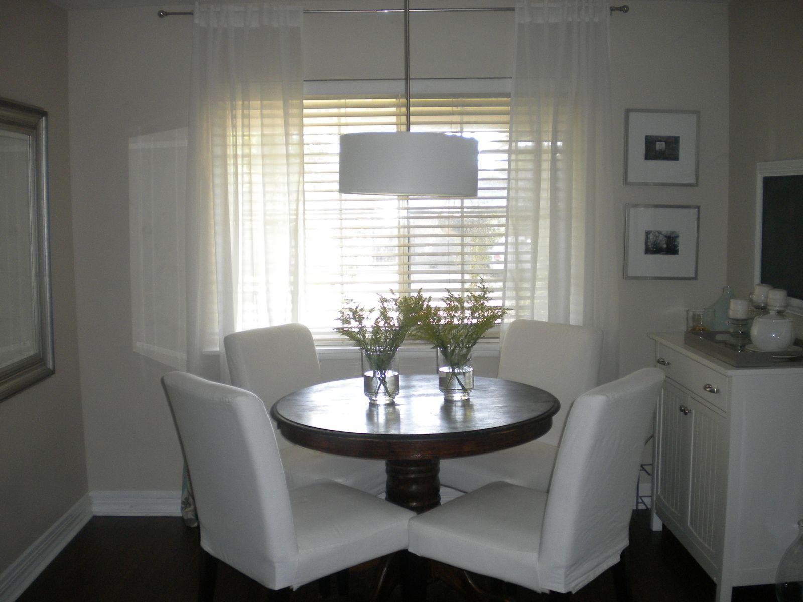 off center dining room light ~ ktvb