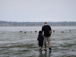 Birch Bay with My Daughter