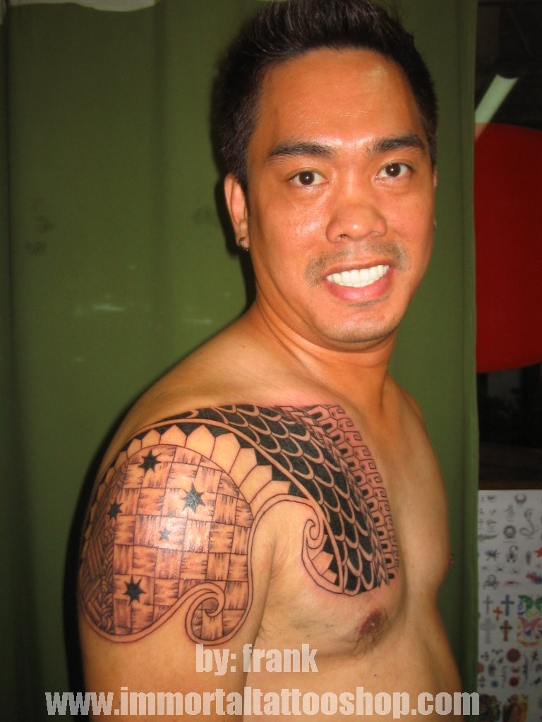 TATTOO MANILA PHILIPPINES by frank ibanez jr.: filipino tribal tattoo