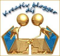 Kreatív blogger díjjal tisztelt meg...