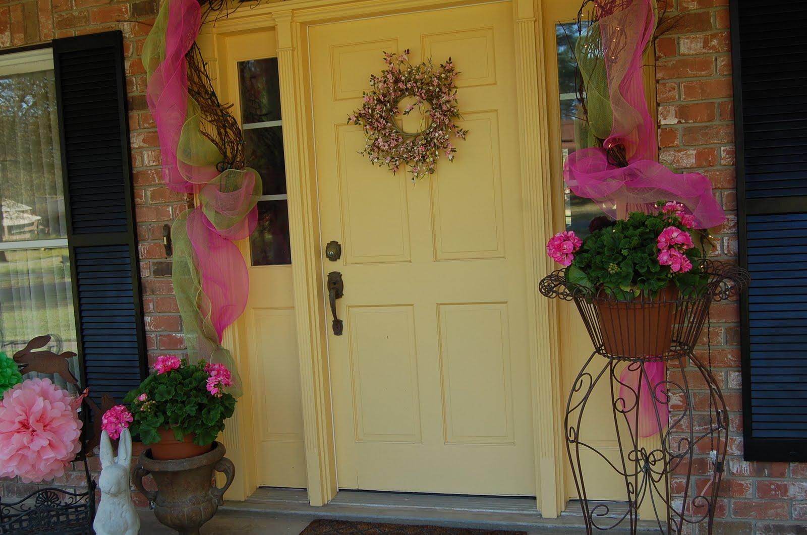 Marvelous Easter Front Door Decorations Ideas - Exterior ideas 3D ...