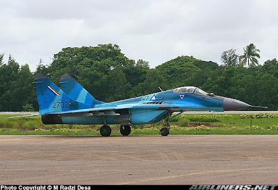 МиГ-29 на ВВС на Мианмар