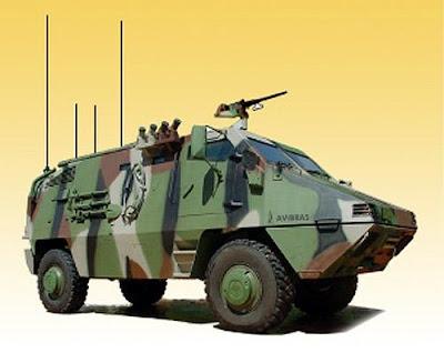 Exército Brasileiro adquire viaturas de apoio ao sistema Astros II e moderniza os Panteras