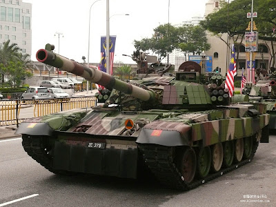 PT-91M main battle tank (photo : KLSR)