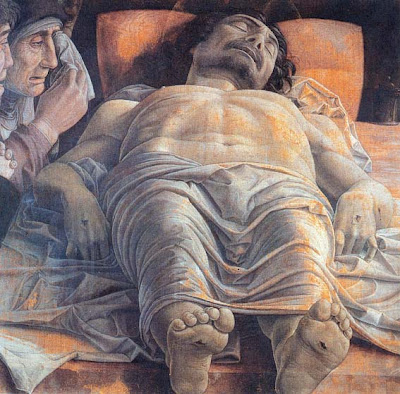 mantegna-cristo in scurto