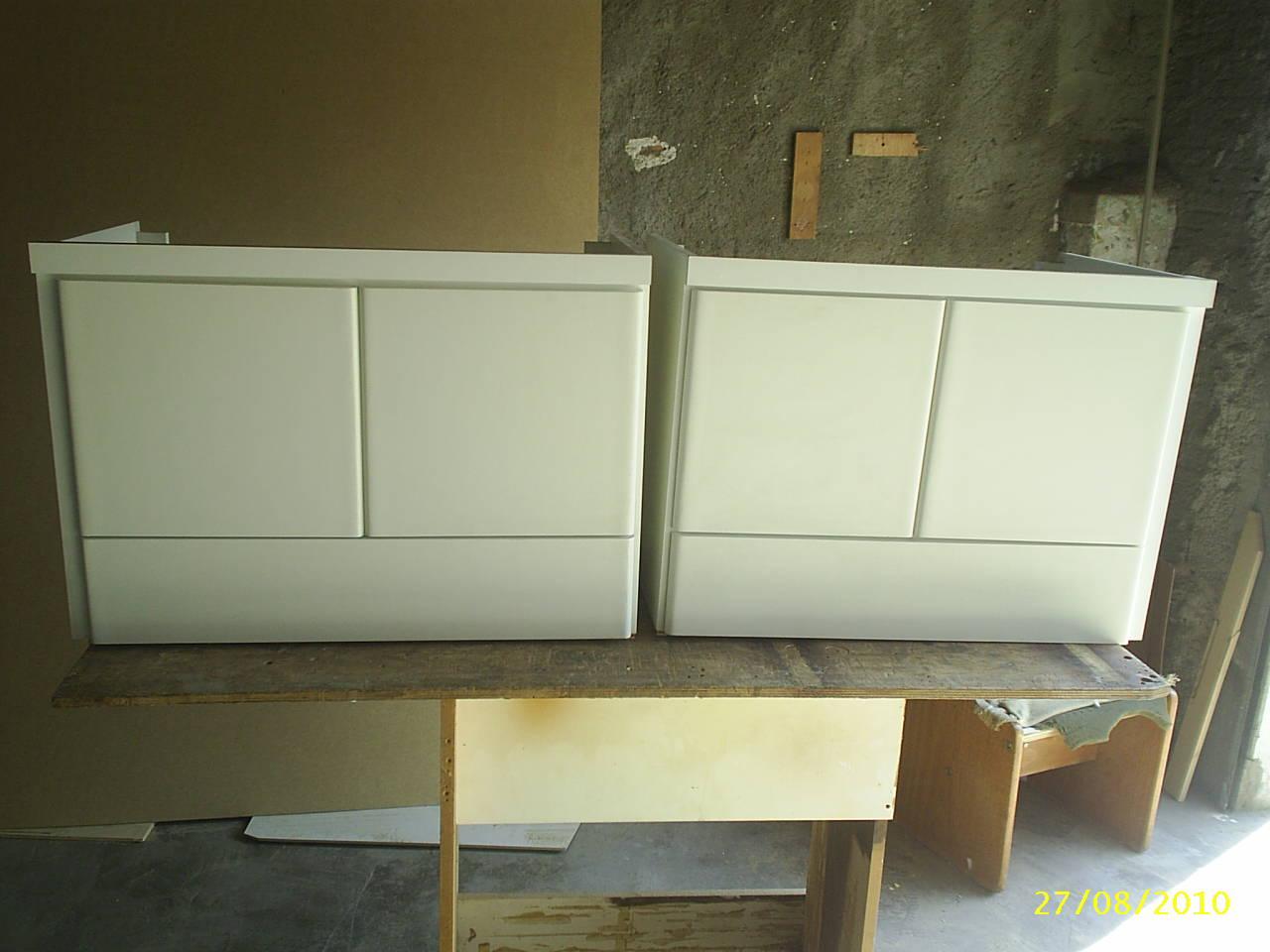 Francisco Pai & Filho: Gabinetes Planejados para banheiro. #867345 1280 960
