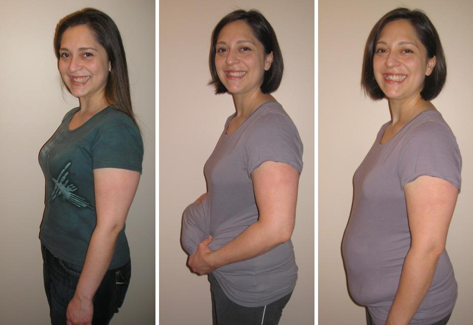 the gallery for gt pregnant with quads belly