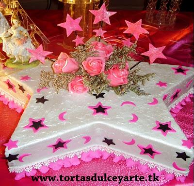 torta 15 años estrellas loca lima peru foto 1