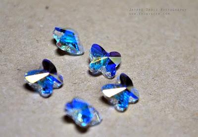 Jaypee David Photography, Macro Shots, enjayneer, JAYtography, Nikon D3000 DSLR Sample Test Shots, Swarovski Butterfly Beads from Wellmanson Quiapo