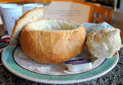 French Baker Soup in a Bread Bowl (SOB), SM Malls, Food Photography by Jaypee David