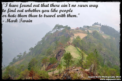 Philippine Pali Photography, Mountain Province, Highest Point, Mark Twain Quotes, Jaypee David  Photography border=